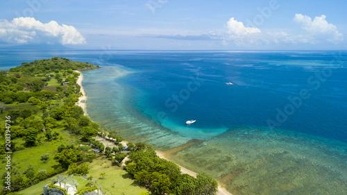 Fotobehang Bali Aerial view of north Bali