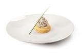 Zeppole salate farcite con ricotta e salame - 208410316