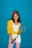 Badminton player - 208418110