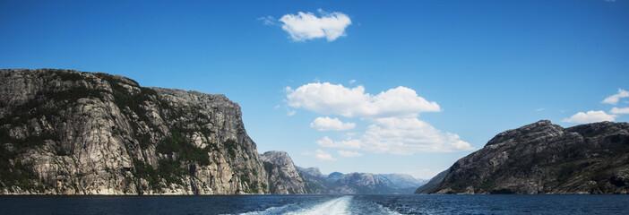 Lysefjorden, Noway © Tony Martin Long