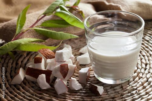Foto Murales lait de noix de coco