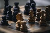 Chess Game Closeup