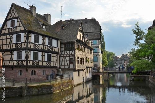 Foto Murales Strasbourg : maisons traditionnelles du quartier de la Petite France