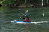 Kayaking in Marne river near Marne la vallée