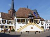 Historisches Rathaus in Deidesheim / Pfalz