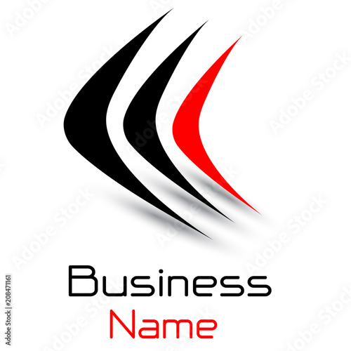 Logo business 3D