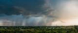 Fototapeta Room - Chmury burzowe, ulewa, zdjęcie panoramiczne © Kamil Kurus