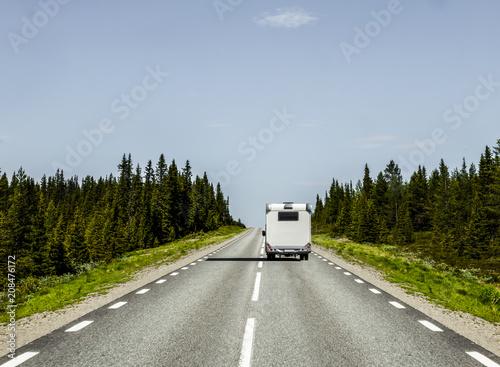 wohnmobil in Skandinavien