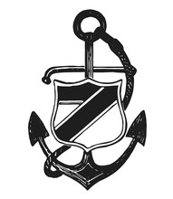 Anchor Emblem # #  Anker Emblem Sticker