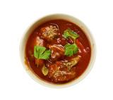 Moroccan Lamb Meatballs - 208483923