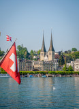 Vue générale du port de Lucerne - 208488936