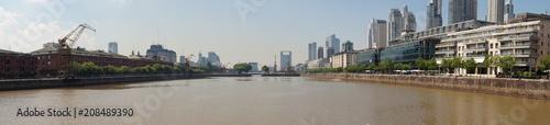 Aluminium Buenos Aires Panorama of Buenos Aires, Argentina