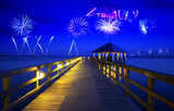 Fourth of July fireworks in USA - 208503385
