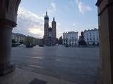 Fototapeta London - Kraków Rynek Kościół Mariacki we wczesnych godzinach porannych © JDziedzic