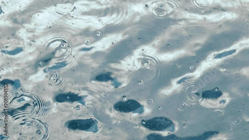 Abstract water surface and fluid motion background