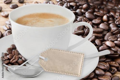 Leinwanddruck Bild Kaffee