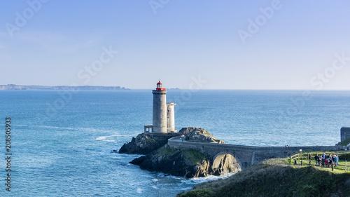 Fotobehang Vuurtoren Phare de Bretagne