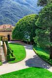 Villa Balbianello, Como lake, Lombardy, Italy - 208506333