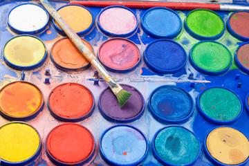 acquerello pittura