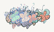 Abstract illustrations of butterfly, conceptual. Cartoon, wallpaper, creative & drawing. - 208534111