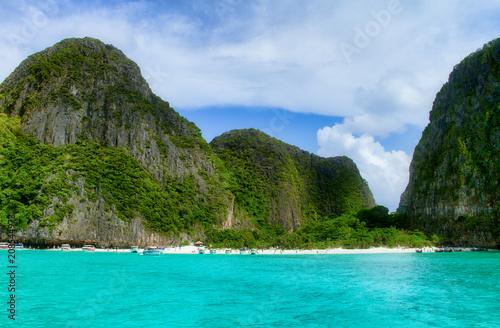 Fotobehang Thailand Phi Phi Islands in Thailand