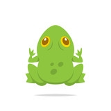 Frog vector isolated - 208564342