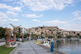 Old city and port of Kavala, Greece