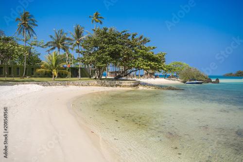 Aluminium Thailand Beach in summer time at an island in Trat Province, Thailand.