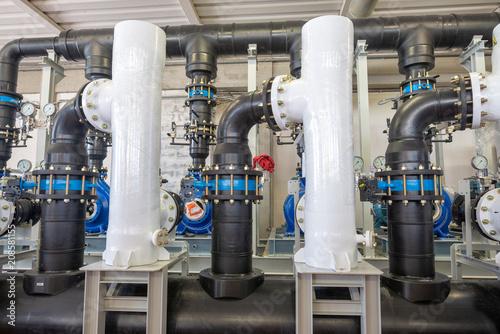 Sprzęt do oczyszczania wody filtr w zakładzie przemysłowym