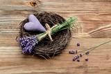 Lavendel Korb - 208615302