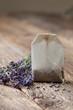 teabag with lavender