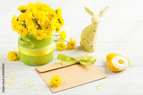 Foto Murales Bouquet, blank craft envelope