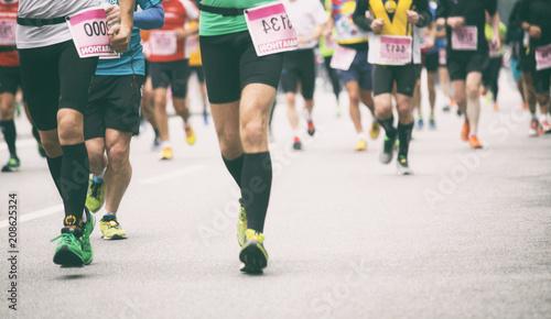 Foto Murales Marathon Läufer