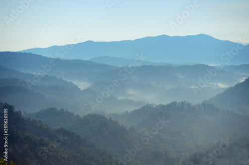 Smoky Mountains at Daybreak - 208626505