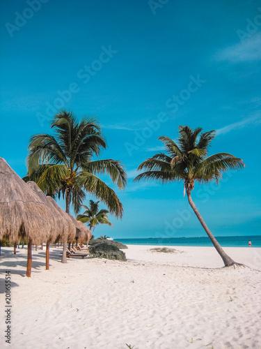 Plexiglas Tropical strand Beautiful Beach in Cancun, Mexico
