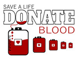 donate blood save a life - 208669105