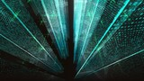 abstract cyberspace backgrounds  - 208670745