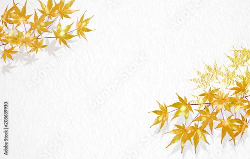 紅葉のイラスト背景は金色の屏風 Buy Photos Ap Images Detailview