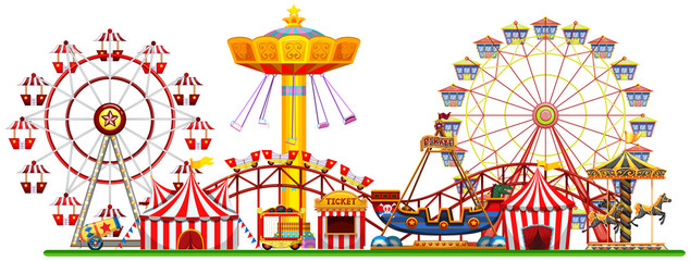 A Panorama of Fun Fair © blueringmedia