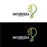 Nature Idea Logo Design Template