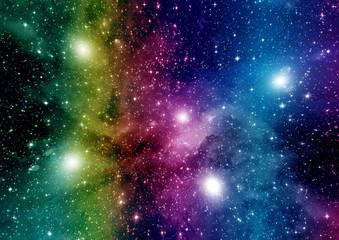 galaxy in a free space © marusja2
