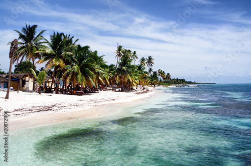 Plexiglas Tropical strand Strand