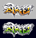 Street Graffiti Vector Lettering