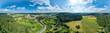 Luftbildpanorama Odenwald - 208737115