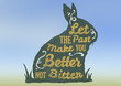 """Motivational Quote """"Let The Past Make You Better Not Bitter"""""""