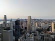New York City skyline looking North from Lower Manhattan.