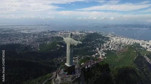 Fridge magnet Brazil - Christ the Redeemer, Corcovado mountain, Rio de Janeiro