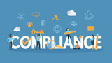 Compliance concept illustration.