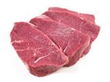 Rohe Rinderhüfte - Steaks - 208762177