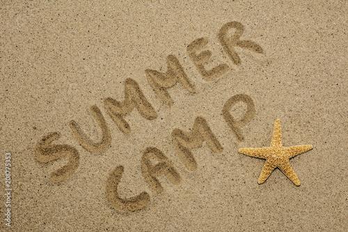 Foto Murales concepto de verano